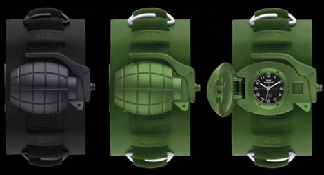 Vestal's grenade watch