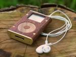 iPod Mini Rebuilt in Australian Red Cedar