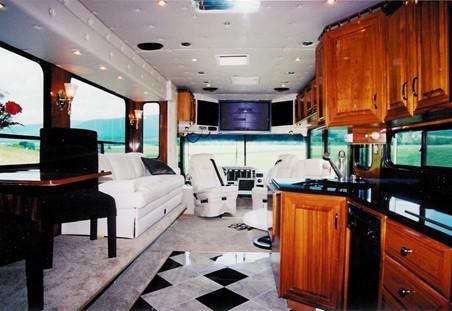 Aqua RV Interior